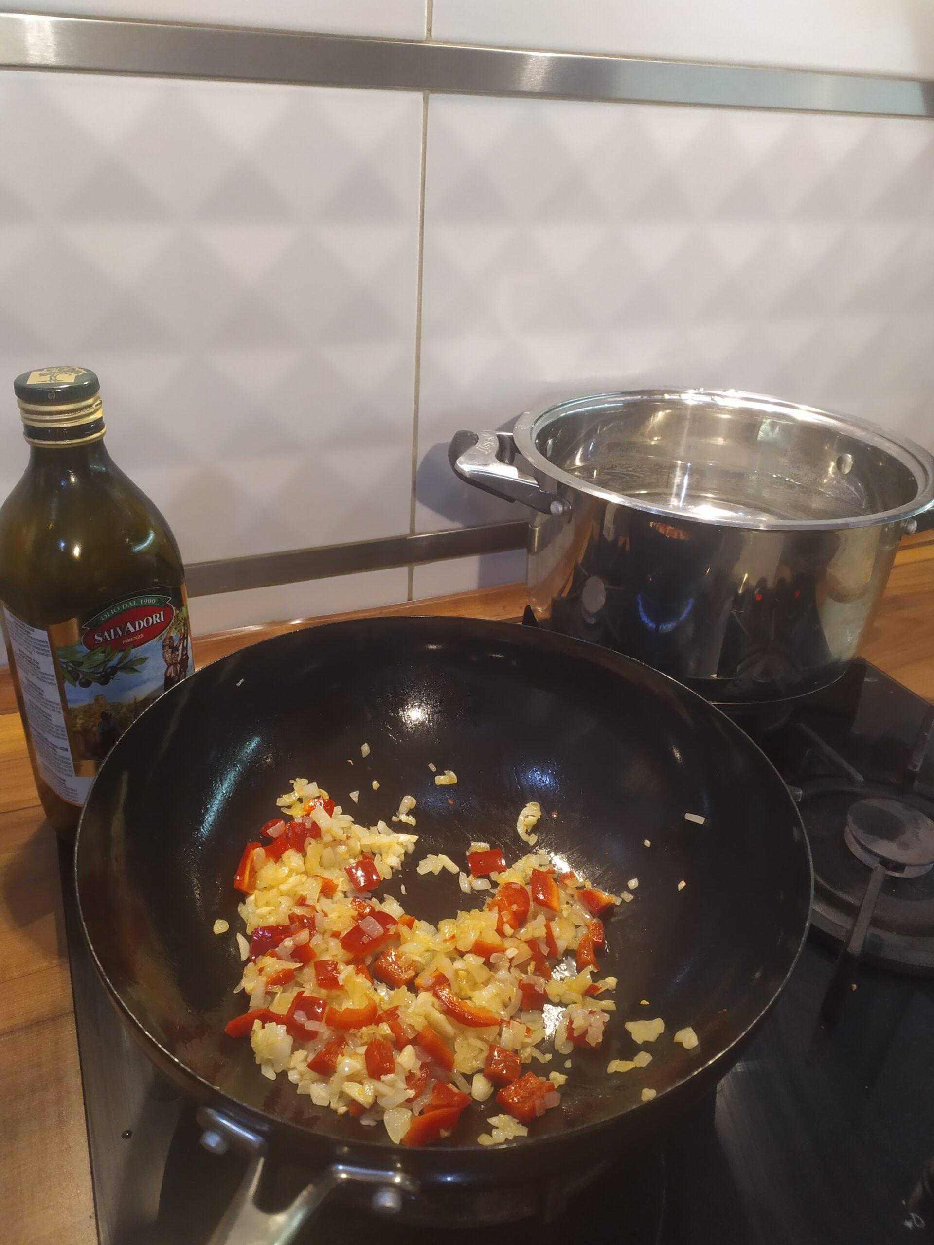 warzywa do spaghetti