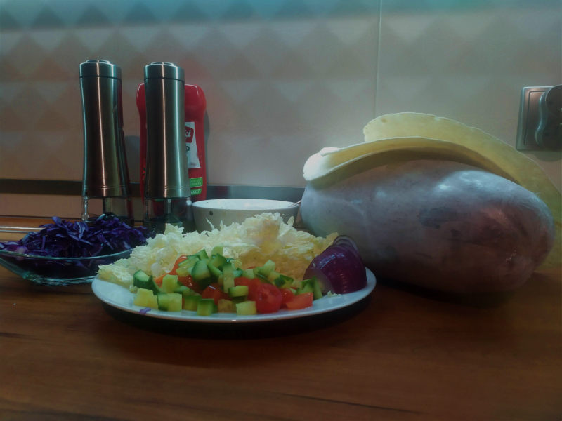 Domowy kebab wołowy - przepis